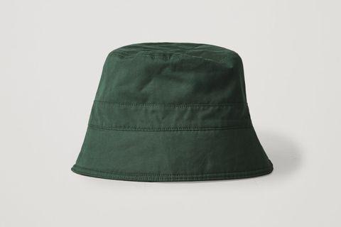 Topstitched Bucket Hat