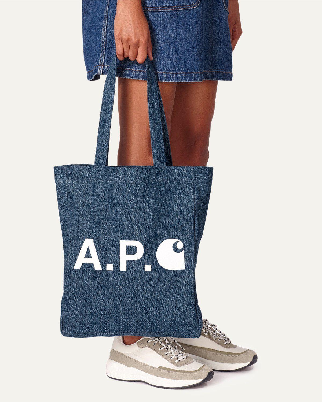 A.P.C. x Carhartt WIP - Alan Tote Indigo - Image 2