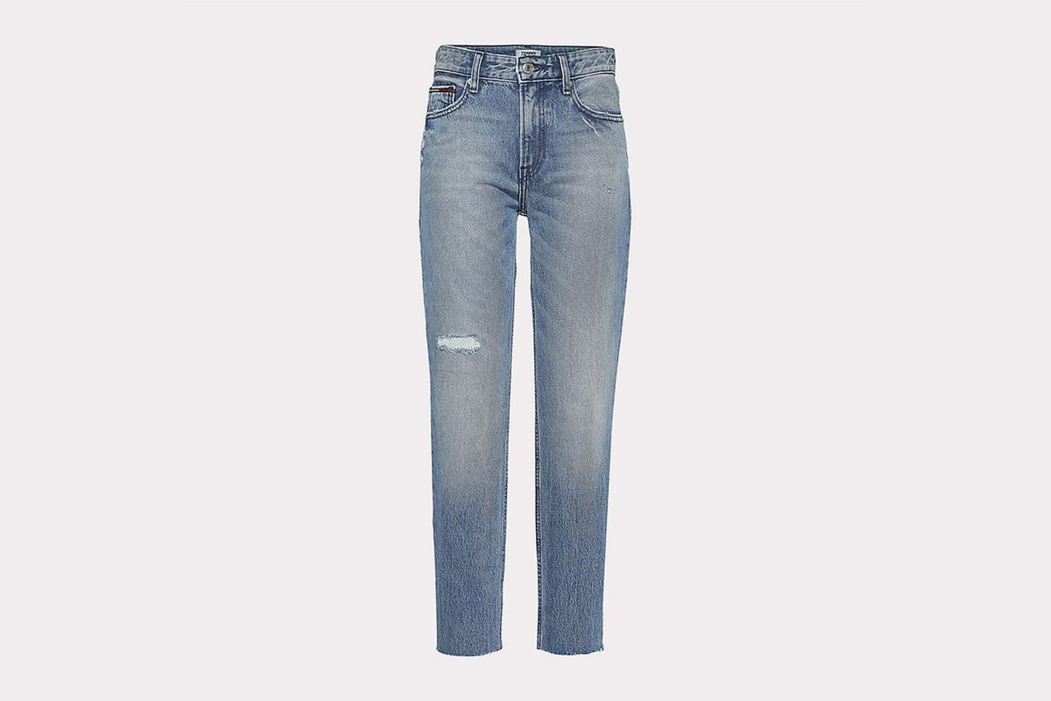 Izzy Distressed Cropped Jeans