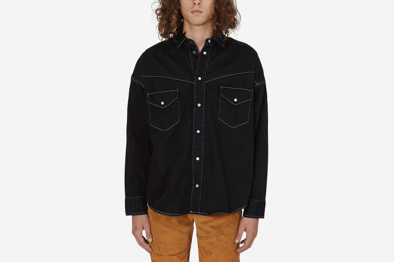 Oversized Western Shirt