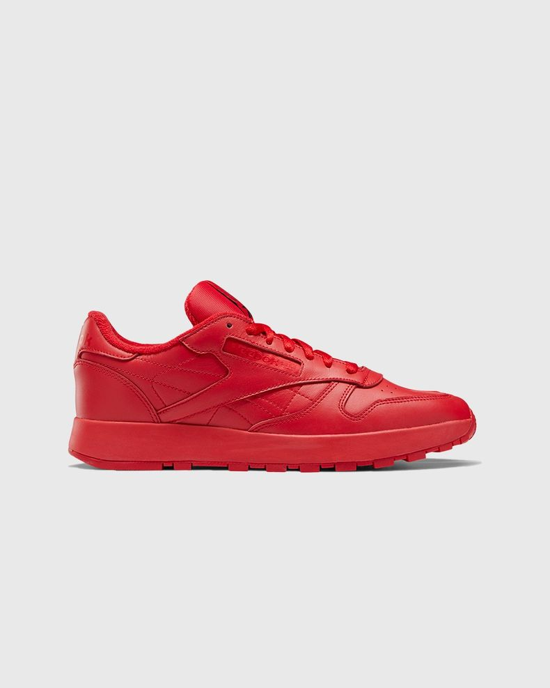 Maison Margiela x Reebok — Classic Leather Tabi Red