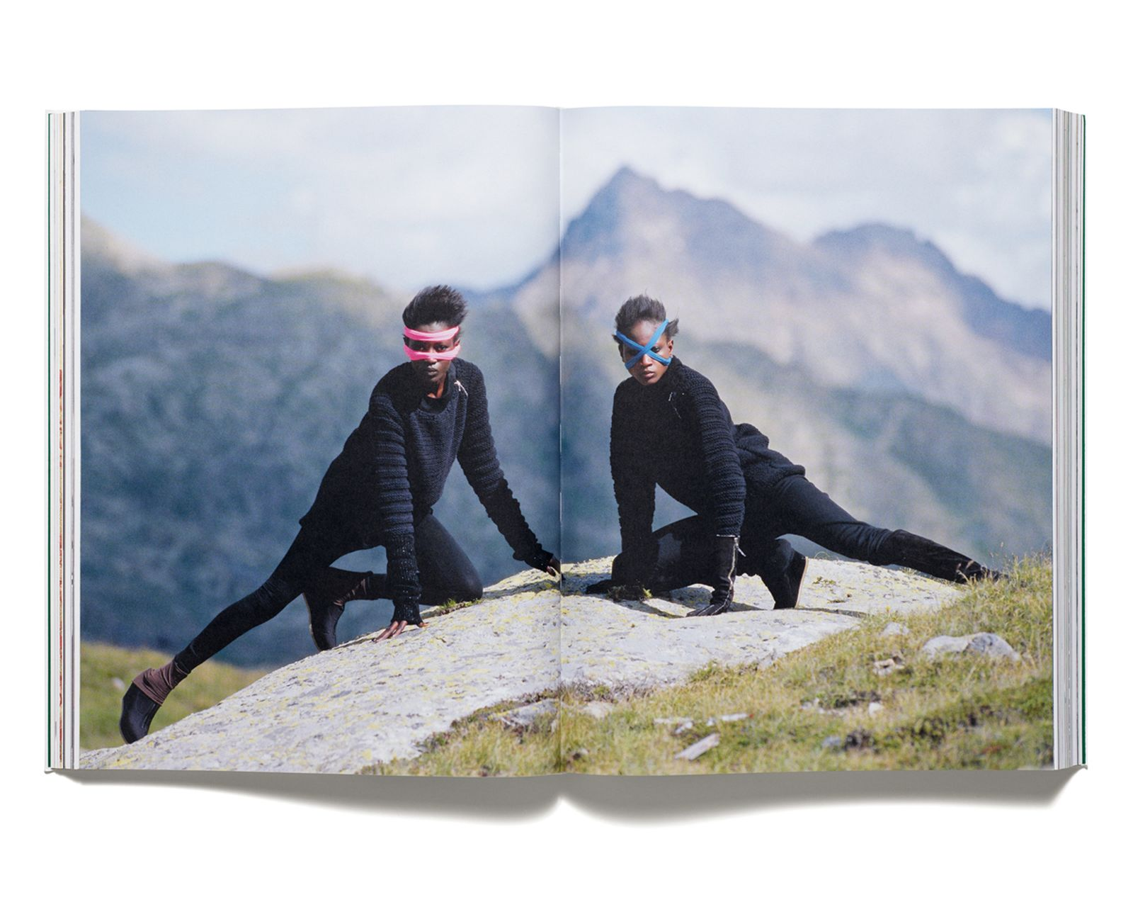 AIN'T NO MOUNTAIN HIGH ENOUGH - Photographs by Hans Feurer for 'Acne Paper' issue 5, 2007. Styling by Marie Chaix.