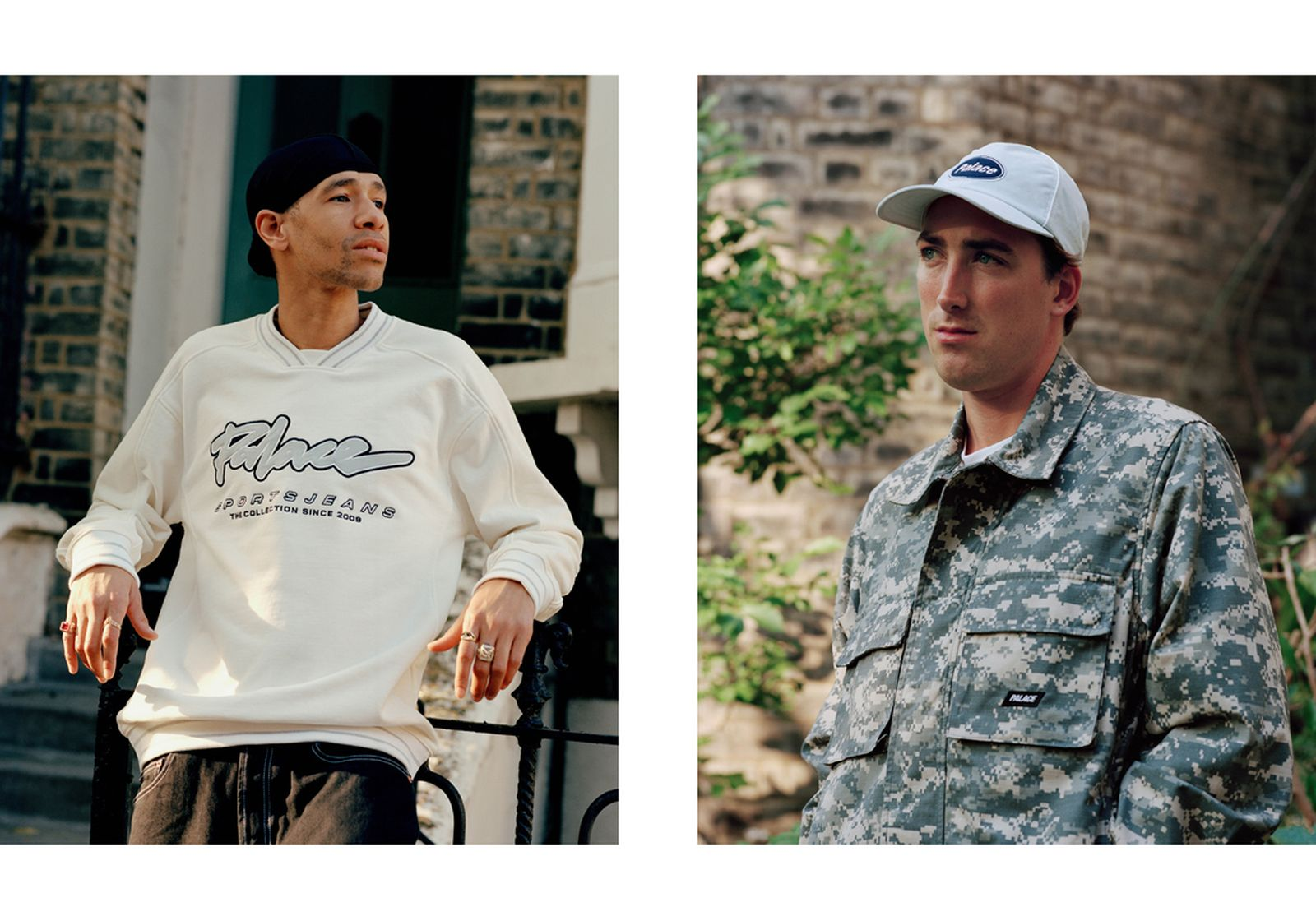 Image of Palace's SS20 lookbook