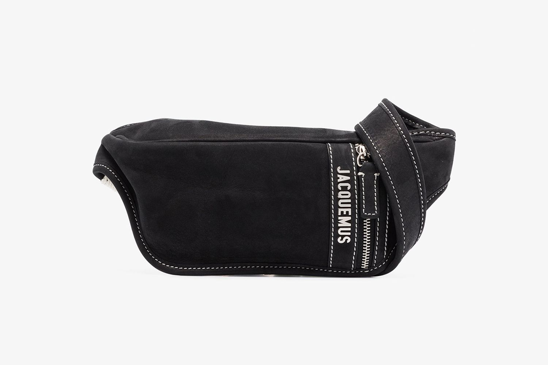 Le Banane Leather Cross Body Bag