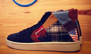 Stussy New York Crew x Converse Pro Leather 'Patchwork' – A First Look