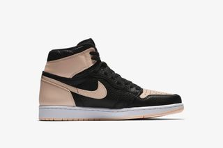 """bc8f8e8bacb11a The Pebbled Leather """"Hyper Pink"""" Air Jordan 1 Drops in Europe Today. By  Fabian Gorsler in Sneakers  1 day ago  0 Comments. Nike. 5 more. Nike"""