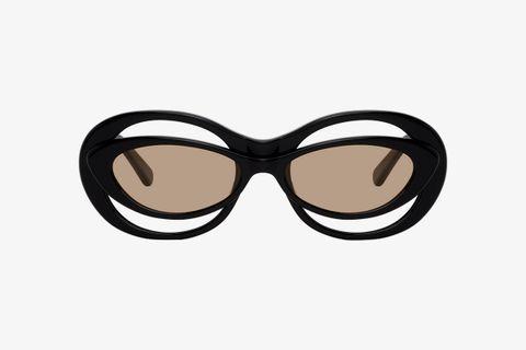 Bug-Eye Cat-Eye Sunglasses