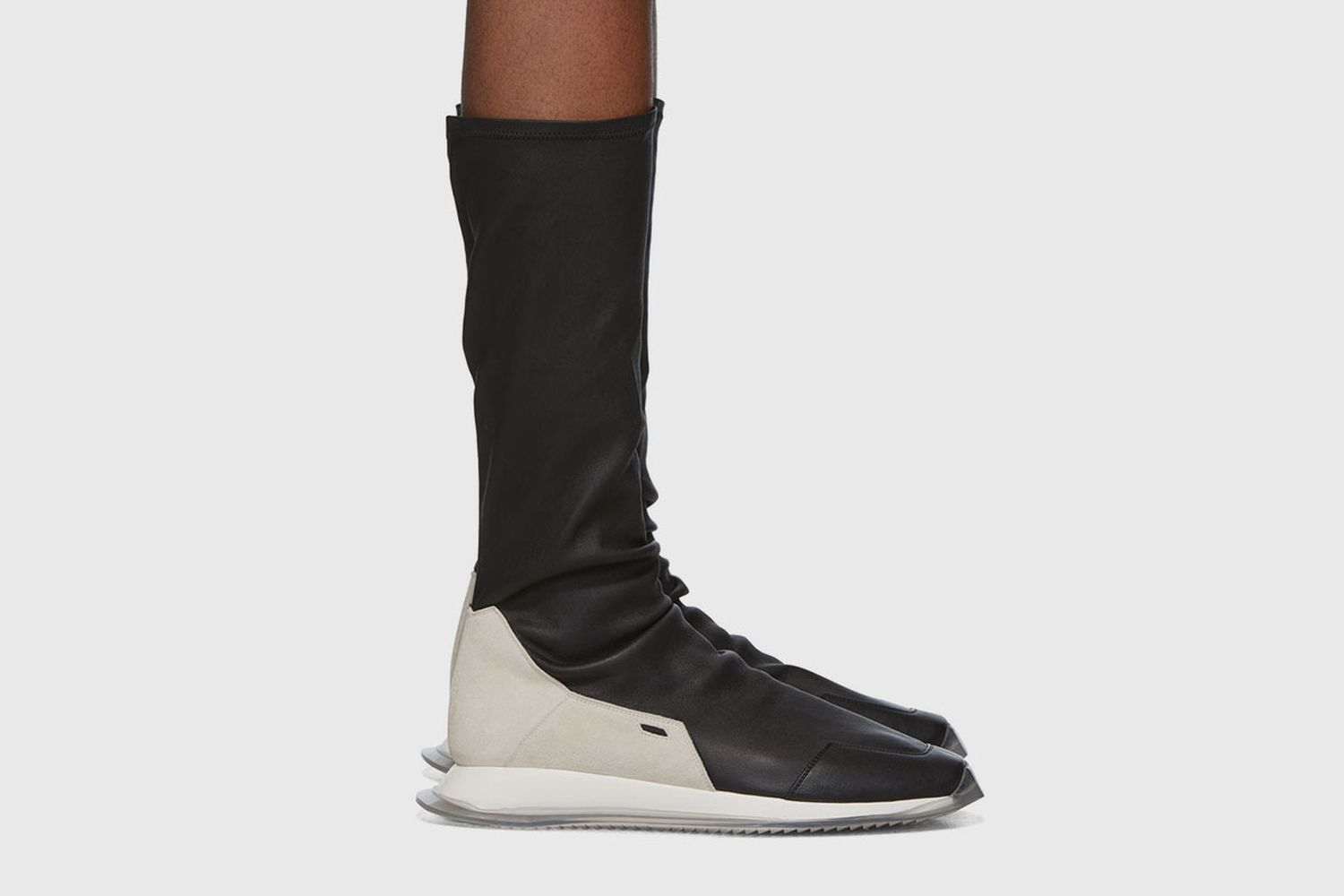 Oblique Stretch Sock Runner Sneakers