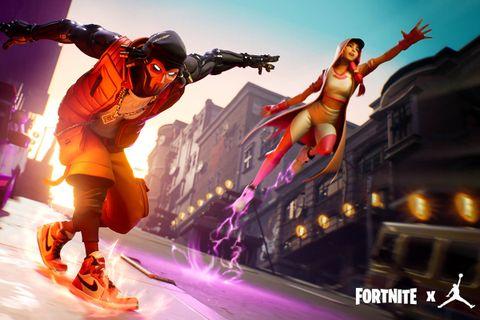 fortnite jordan collaboration Epic Games jordan brand