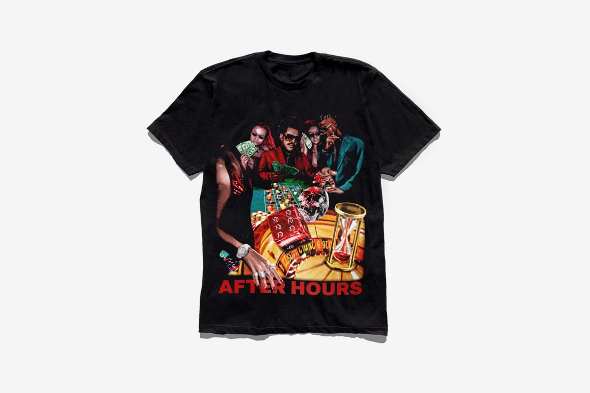 The Weeknd After Hours merch