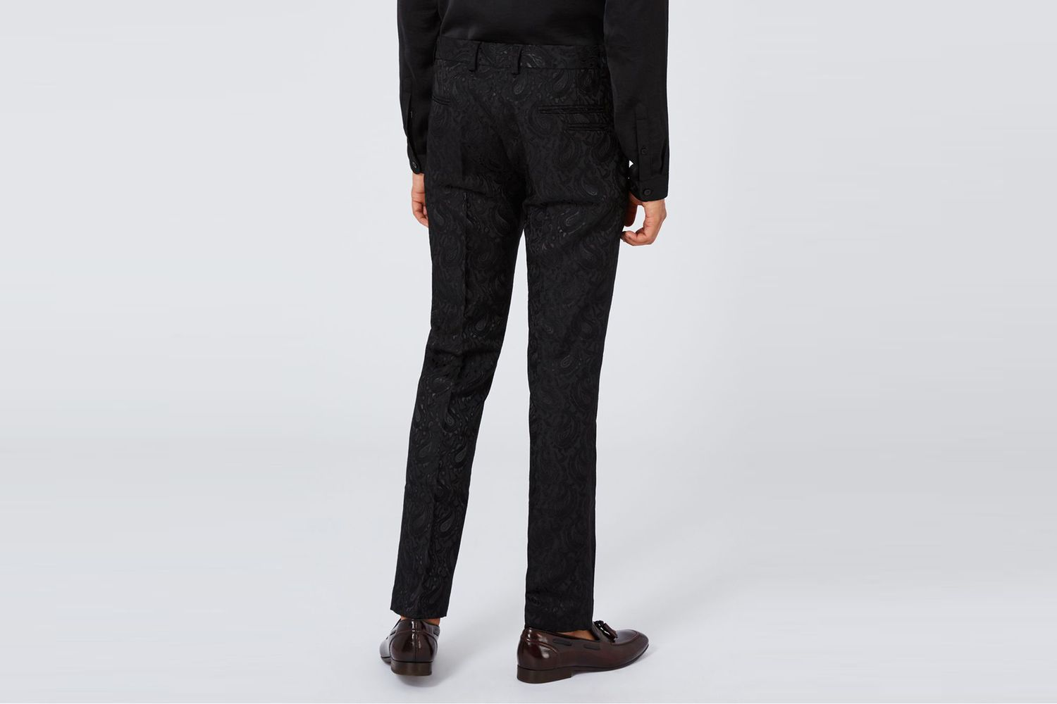 Patterned Suit Trousers
