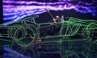 Watch Quavo Perform in a Neon Lamborghini on 'Fallon'