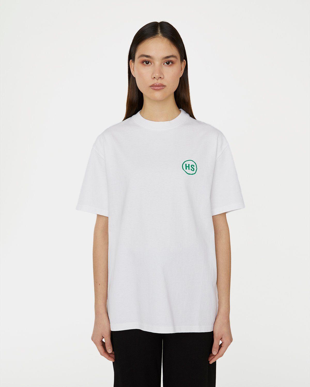 Highsnobiety x L'AS du FALLAFEL - Logo T-Shirt White - Image 5