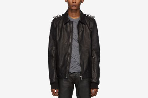 Leather Rotterdam Jacket