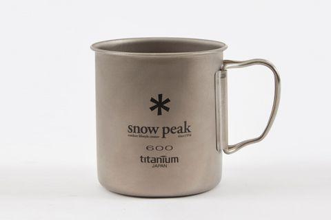 Titanium Single Cup 600