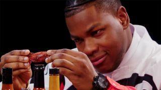 John Boyega Hot Ones