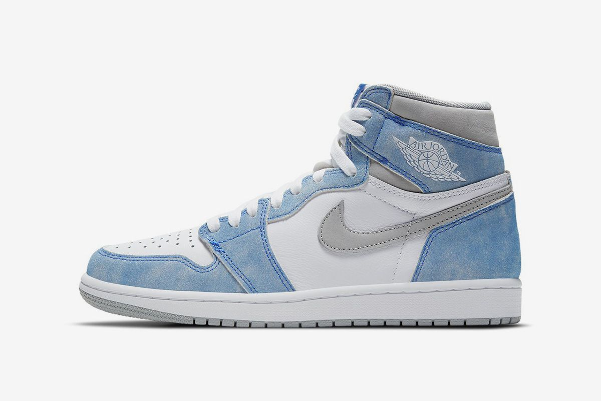 Please, Don't Step on My Blue Suede Jordan 1s 3