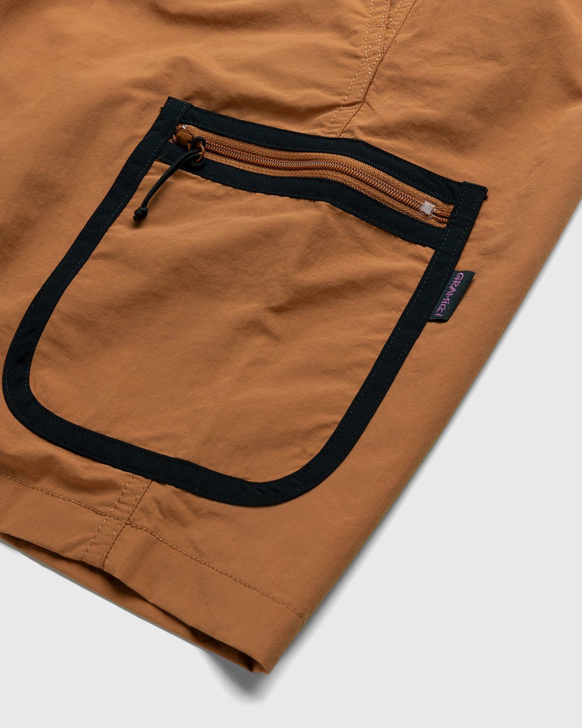 Gramicci for Highsnobiety – Shorts Rust - Image 4