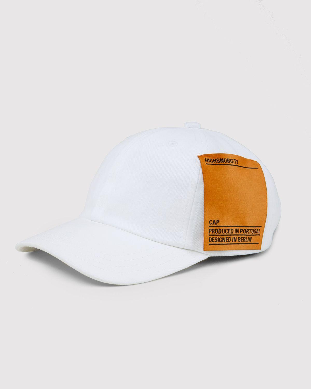Highsnobiety Staples - Cap White - Image 4