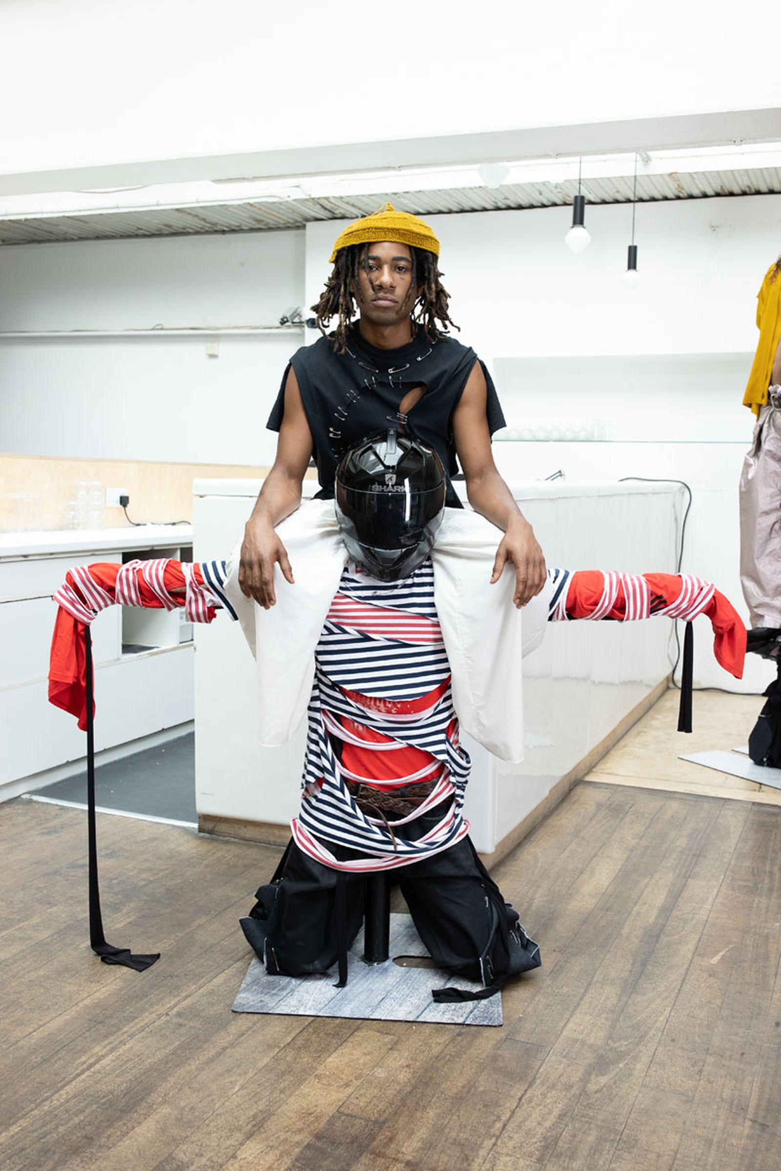 London Fashion Week Spring Summer 2022 - Jawara Alleyne