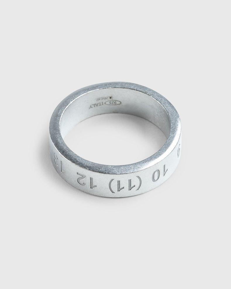 Maison Margiela – Logo Ring Silver
