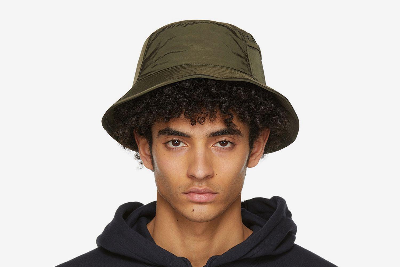 Chrome Garment-Dyed Bucket Hat