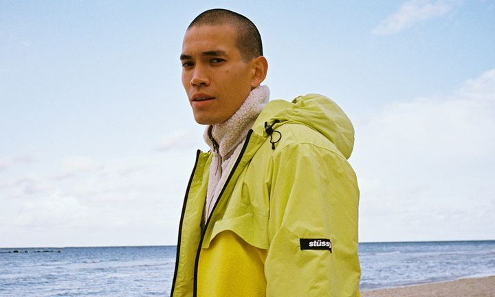hhv fw19 lookbook feat New Balance Stüssy barbour