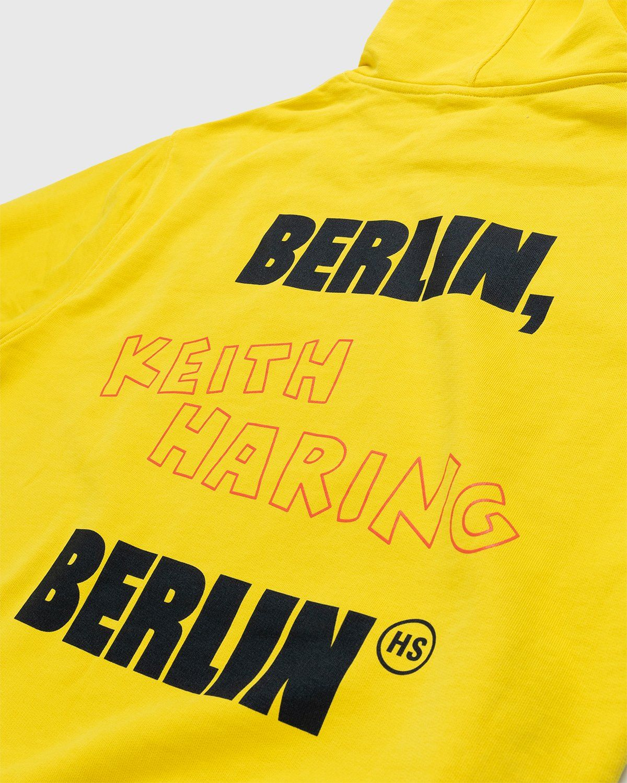 Highsnobiety x Keith Haring – Hoodie Yellow - Image 6