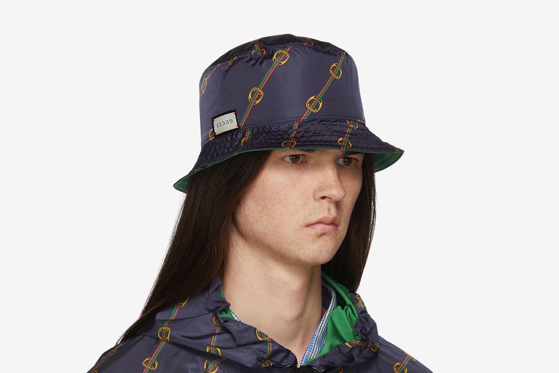 Reversible Nylon Bucket Hat