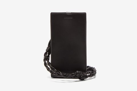 Tangle Smooth-Leather Phone Case