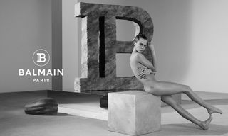 Cara Delevingne Poses Nude for Balmain's Spring 2019 Campaign