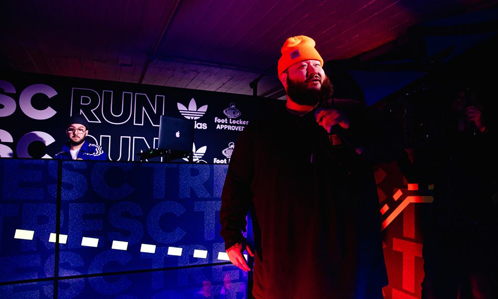 Action Bronson on His Sneaker Collection, Songwriting vs. Cooking & adidas' New Tresc Run Sneaker