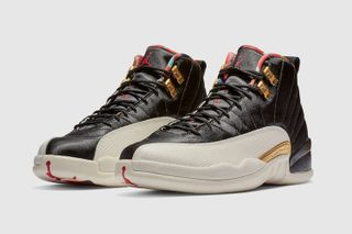 "74b952b69eaf45 The ""Playoffs""-Inspired Air Jordan 12 ""Chinese New Year"" Drops Today"