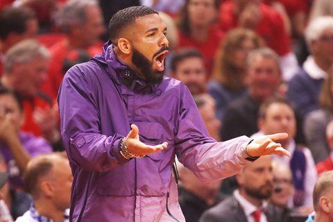 Drake purple jacket