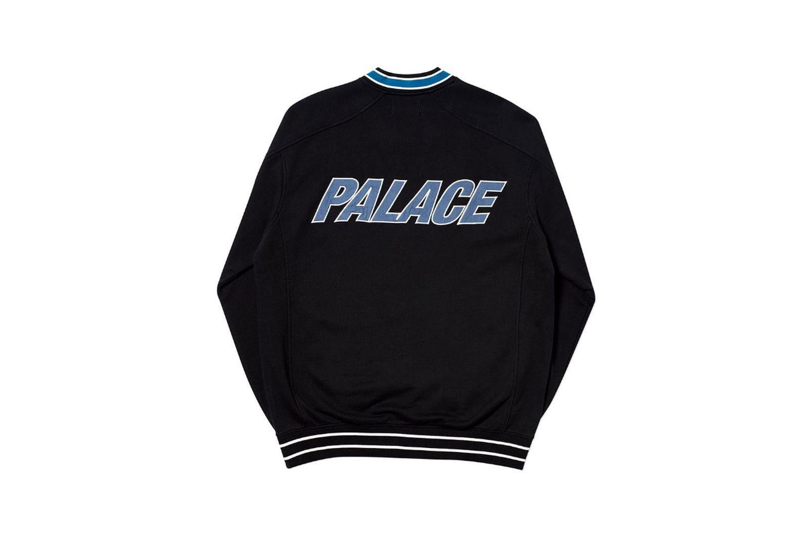 Palace 2019 Autumn crew optimo black back 2073 1