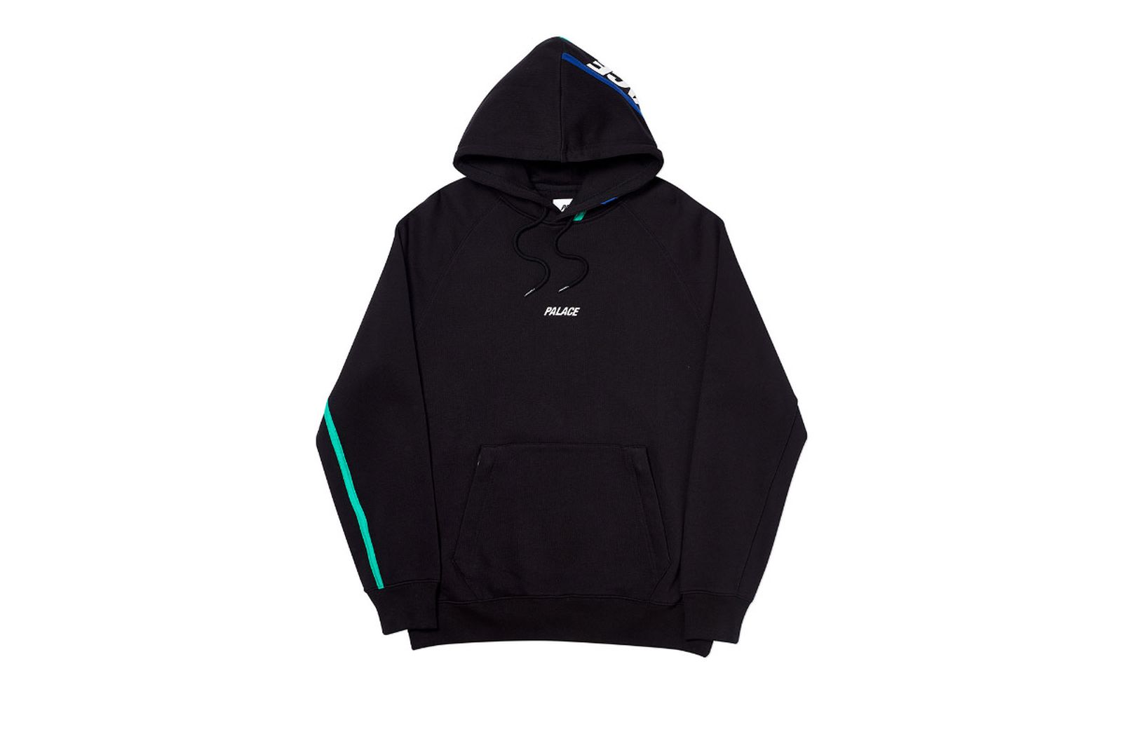 Palace 2019 Autumn Hood Dome Black Front