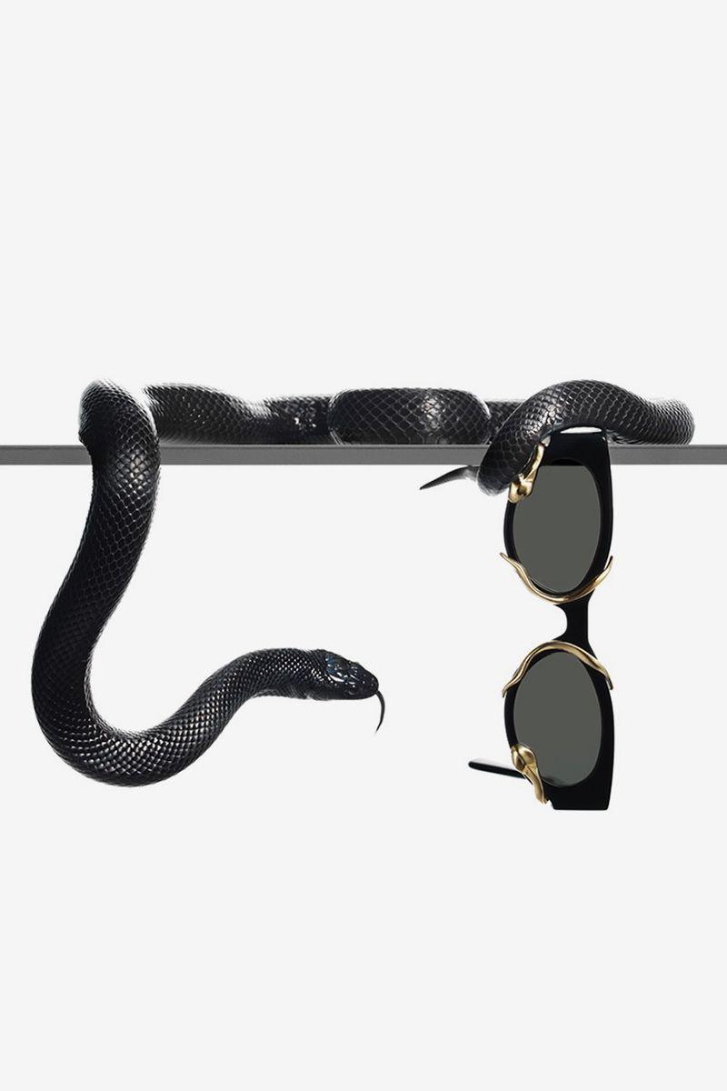 Alexander Wang & Gentle Monster Debut Snake Sunglasses Collab