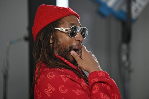 Lil Jon attends the MCM x Rolling Pre-Super Bowl Event