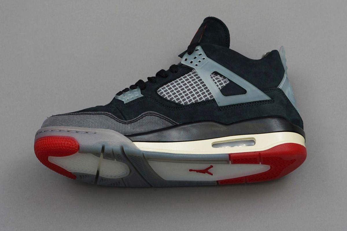 "Rumors of an Off-White™ x Nike Air Jordan 4 ""Bred"" Are Swirling 1"