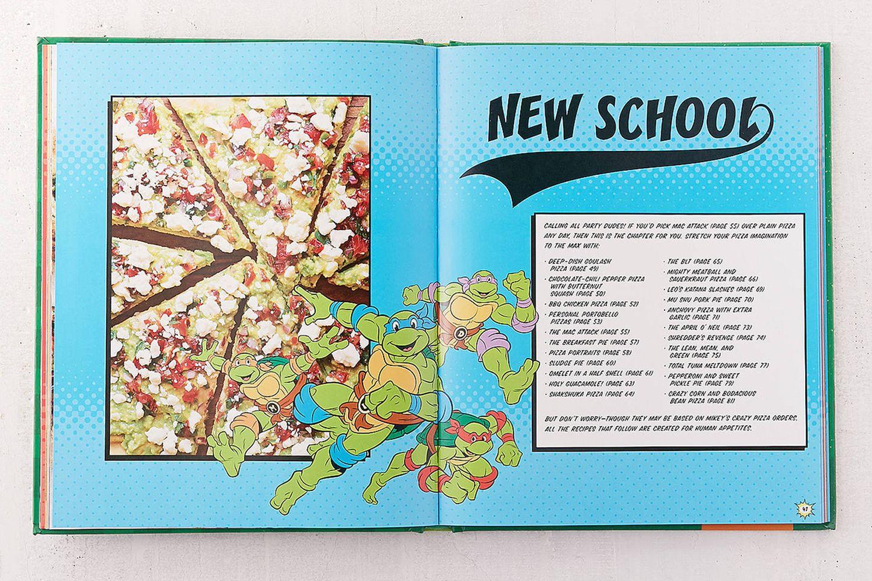 TNMT Cookbook Limited Pizza Box Set