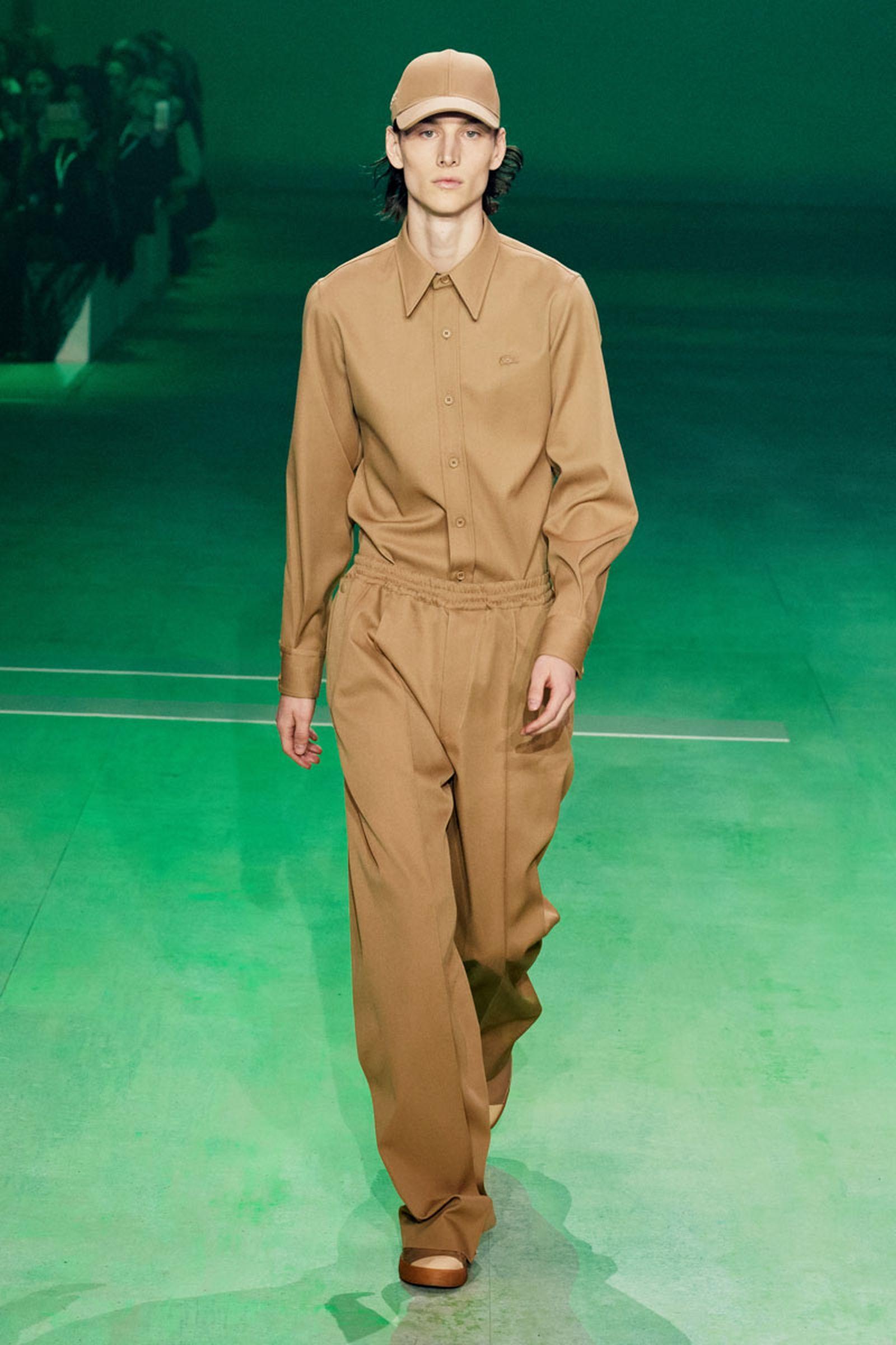 2lascoste fw19 paris fashion week Louise Trotter lacoste runway