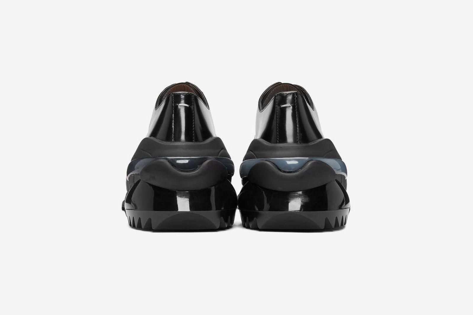 Maison Margiela Creeper black leather