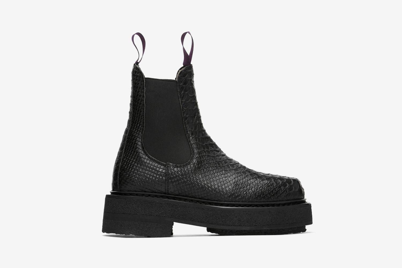 Snake Ortega Chelsea Boots
