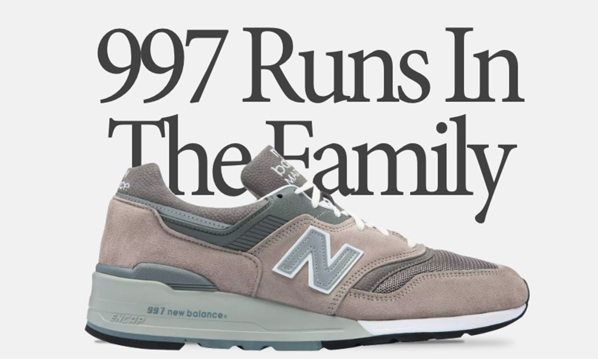 It All Runs in the Family: A Family Portrait of the New Balance 997