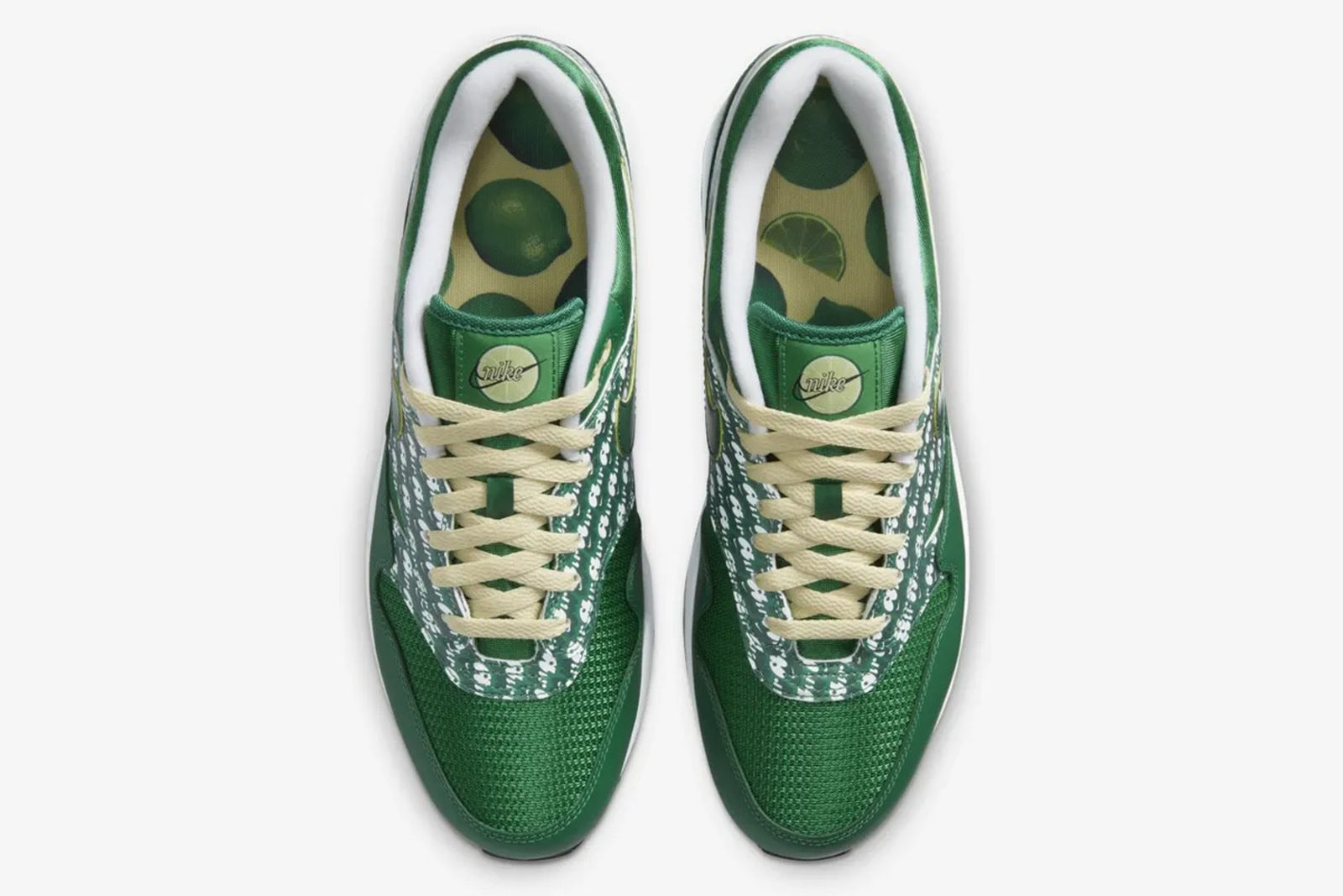 Nike Air Max 1 Limeade Product Shot