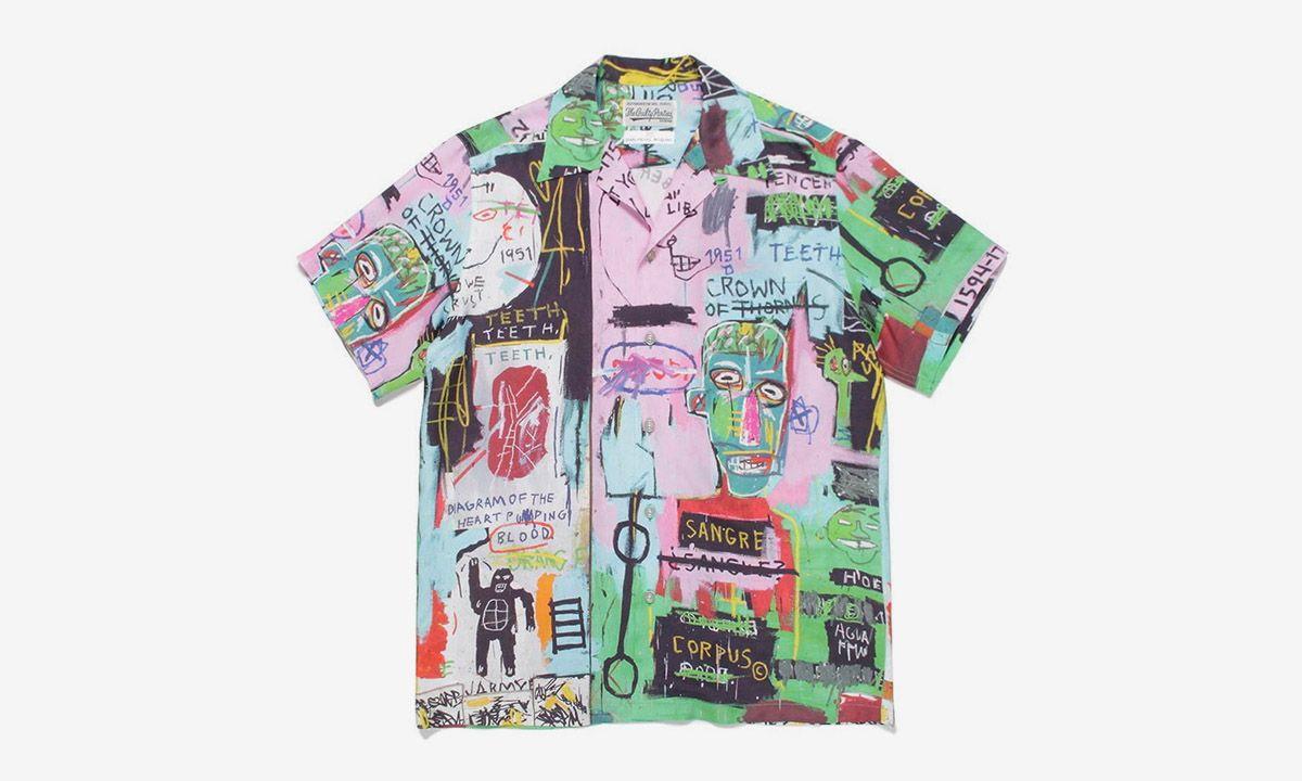 Wacko Maria's Hawaiian Shirts Are Dripping in Basquiat's Artwork