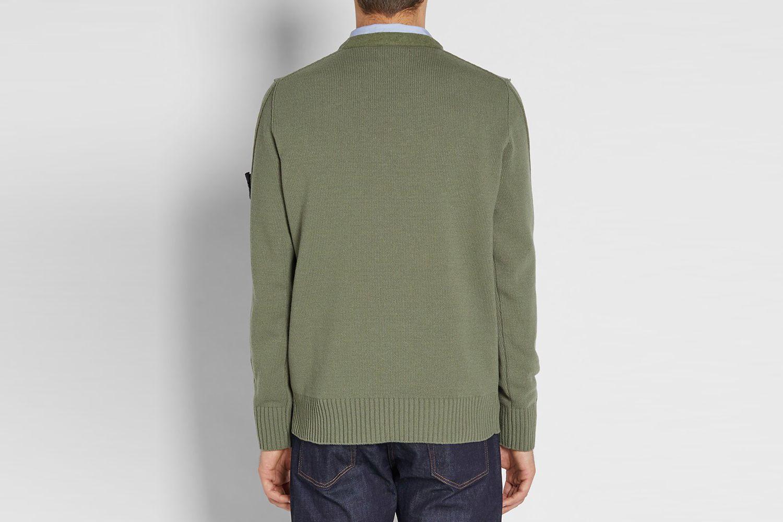 Lambswool Crewneck Sweater
