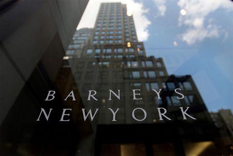 barneys new york bankruptcy not closing