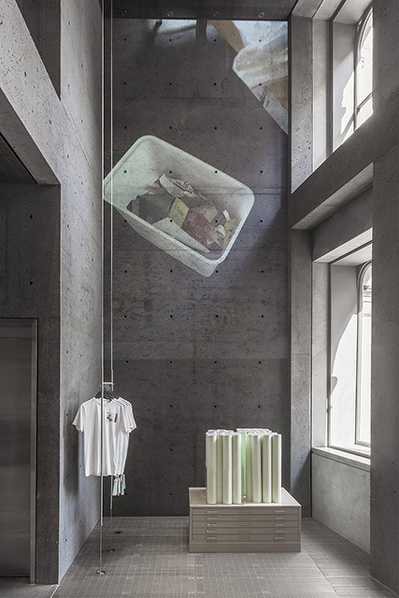 virgil abloh cutting room floor exhibition ssense