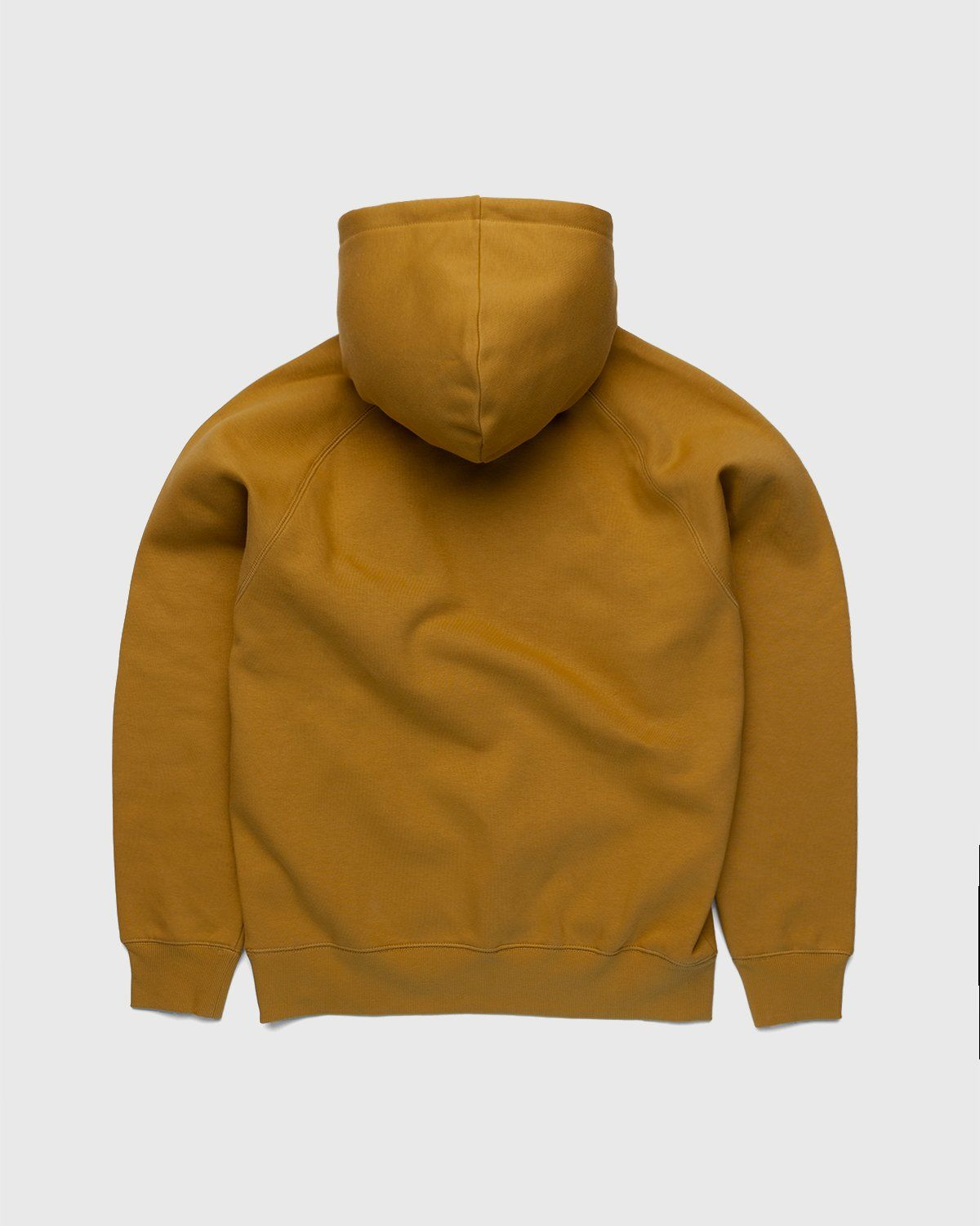 Carhartt WIP – Hooded Chase Sweat Gold - Image 2